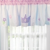 Pink and White Princess Window Valance