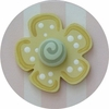 Pink and Yellow Flower Drawer Knob
