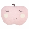 Pink Apple Pillow
