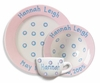 Pink Baby Dot Ceramic Dish Set