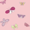 Pink Butterflies Wallpaper