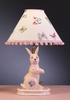 Pink Butterfly Rabbit Lamp
