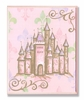 Pink Castle Wall Plaque