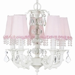 Pink Chandeliers & Pendants