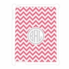 Pink Chevron Personalized iPad Case