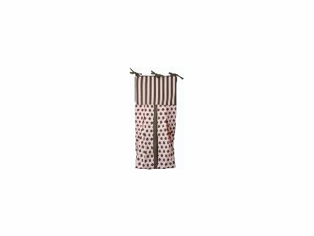 Pink Damask Crib Bedding