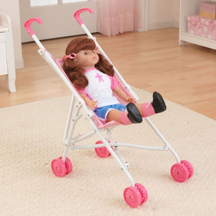 Pink Darling Doll Stroller