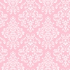 Pink Delicate Damask Wallpaper