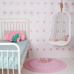 Pink Diamonds Wall Decals