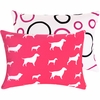 Pink Dog Boudoir Pillow