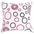 Pink Dog Large Throw Pillow