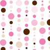 Pink Dot Line Caden Lane Fabric by the Yard