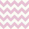 Pink Dots Chevron Wallpaper