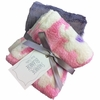 Pink Elephant Burp Cloth Set