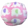 Pink Elephant Diaper Cover