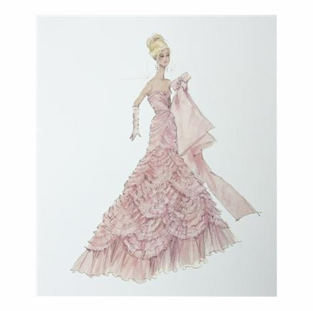 Barbie Art Prints Couture Barbie Art Print