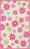 Pink Floral Piper Rug