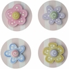 Pink Flower Drawer Knobs - Set of 4