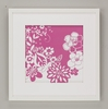 Pink Flower Power Framed Art