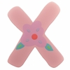 Pink Flower Wall Letter - X