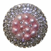 Pink Glamour Drawer Knob