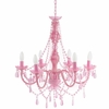 Pink Gypsy Large Chandelier