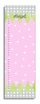 Pink Harlequin Personalized Growth Chart