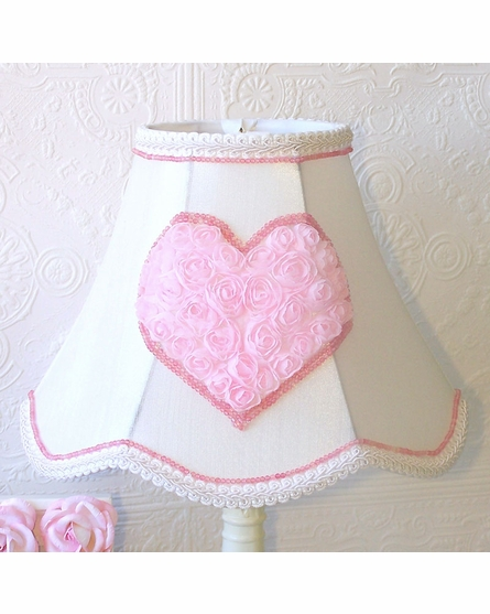 Pink Heart Table Lamp