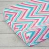Pink Ikat Changing Pad Cover