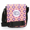 Pink Ikat Diamond Monogram Sling Bag