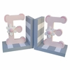 Pink Initial Bookends