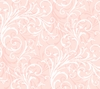 Pink Layered Scroll Wallpaper