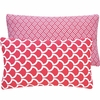 Pink Loops Lumbar Pillow