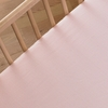 Pink Mini Chevron Crib Sheet