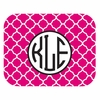 Pink Morocco Personalized Mouse Pad