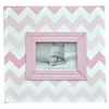 Pink Ombre Chevron Picture Frame