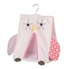 Pink Owl Diaper Stacker