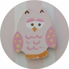 Pink Owl Drawer Knob