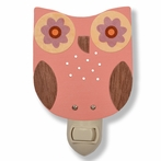 Pink Owl Night Light