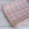 Pink Paisley Patch Changing Pad Cover
