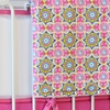 Pink Paisley Patch Crib Blanket