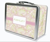 Pink Paisley Personalized Lunch Box