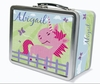Pink Pastures Personalized Lunch Box