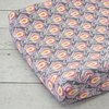 Pink Peacock Changing Pad Cover