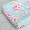 Pink Penelope Changing Pad Cover