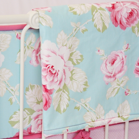 Pink Penelope Crib Bedding Set