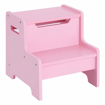 Pink Personalized Step Stool