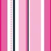Pink Pinstripe Caden Lane Fabric by the Yard