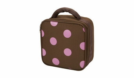 Pink Polka Dot School Backpack