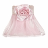 Pink Rose Ruffled Sheer Chandelier Shade